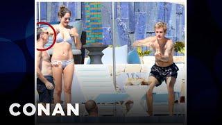 Conan's Executive Producer Partied With Justin Bieber  - CONAN on TBS