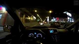 Ford Ecosport 1.6 - Day&Night FPV Driving in 4k / Безмолвная поездка в 4k на Форд Экоспорт