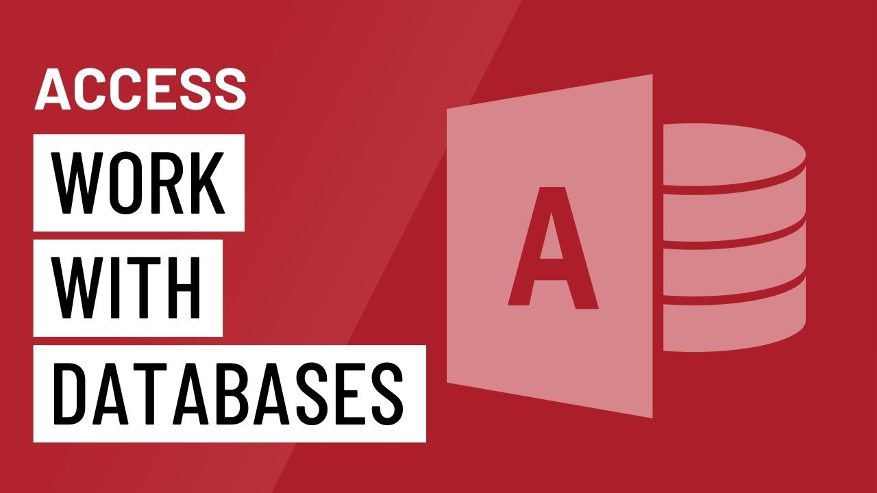 Access: Working with Databases