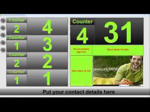 Customers Queuing System-نظام طابور العملاء