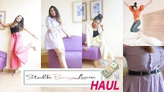 Cute Clothes Haul from Stalk Buy Love|Shweta Makeup&Beauty