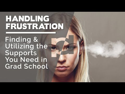 Finding and utilizing the supports you need in graduate school
