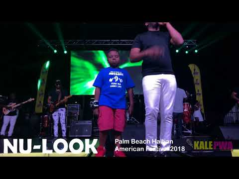 """Nu-Look & Arly Lariviere """"Until When"""" Album: """"My Time"""" Live Palm Beach Haitian Festival 2018"""