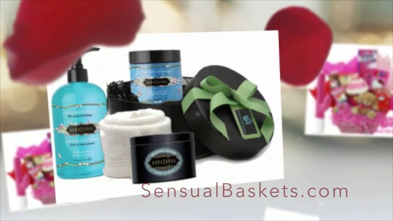 Adult toy gift basket