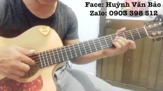 [Văn Bảo] Intro guitar tone Em buồn rũ rượi