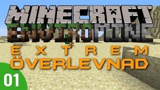 Extrem Överlevnad - Minecraft EnviroMine Mod EP #1: En ny utmaning (Swedish)