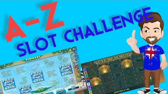 Online slots A-Z challenge - Trying to bonus slots all the way through the alphabet