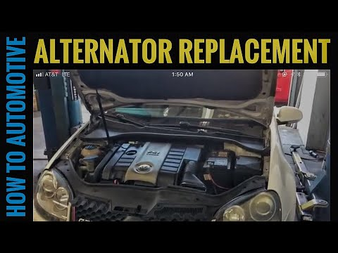 How to Replace the Alternator on a 2008 Volkswagen GTI