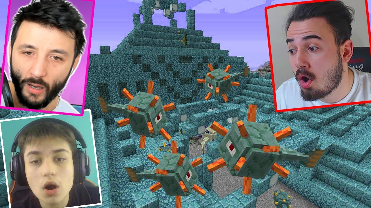 SU ALTI TAPINAĞINA GİTTİK! HEPİMİZ ÖLDÜK!! Ekiple Minecraft w/LAZ, Berat Ali