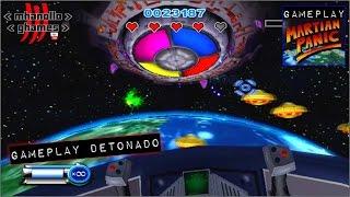 Nintendo Wii: Martian Panic - Atacando a nave mãe.