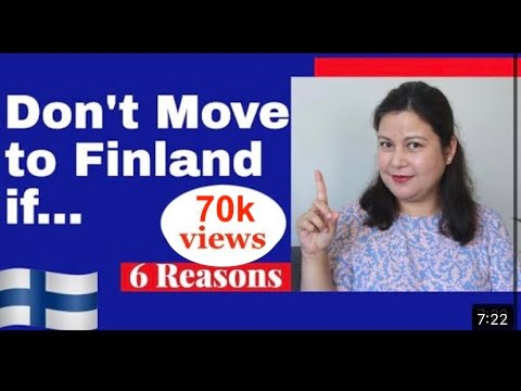 Don't Move to Finland if... 6 Reasons Why You shouldn't Move to Finland   