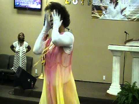 "Prophetic Dance Ministry of SaKatherine Johnson ""Thank You"" by Benita Washington Pt. 2"