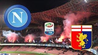 SSC Napoli - CFC Genoa   Curva A & Curva B   Tifosi