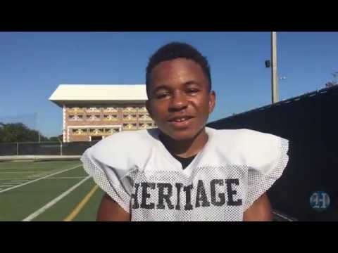 American Heritage's 4foot5, 95pound Running Back Adam Reed