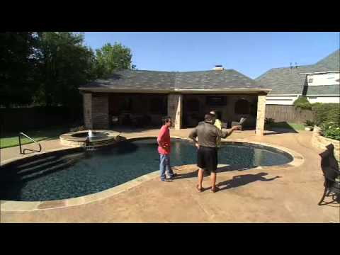 Total Outdoor Transformations - Pool Remodel Before and After - Claffey Pools