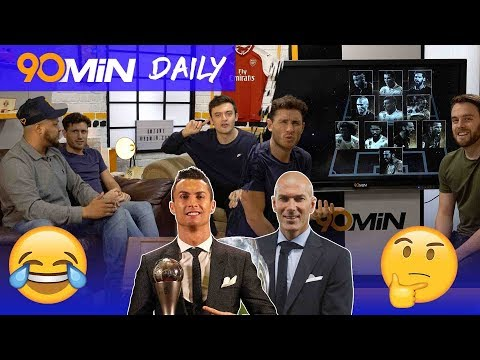 Ronaldo wins FIFA Player of the Year! | Should Kante and De Bruyne be in Team of the Year!? | Daily