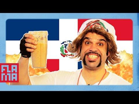 SMOOTHIE CHALLENGE! Dominican Juicing
