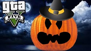 GTA Online: Passeando Pela Abóbora do HALLOWEEN!!! -Corrida ACROBÁTICA #14