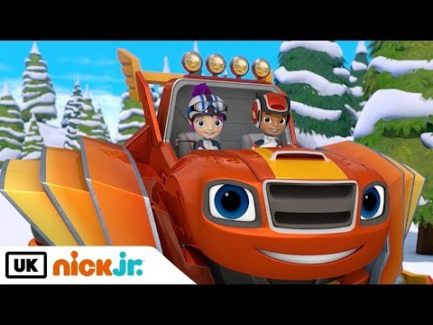 Blaze and the Monster Machines | Breaking the Ice | Nick Jr. UK