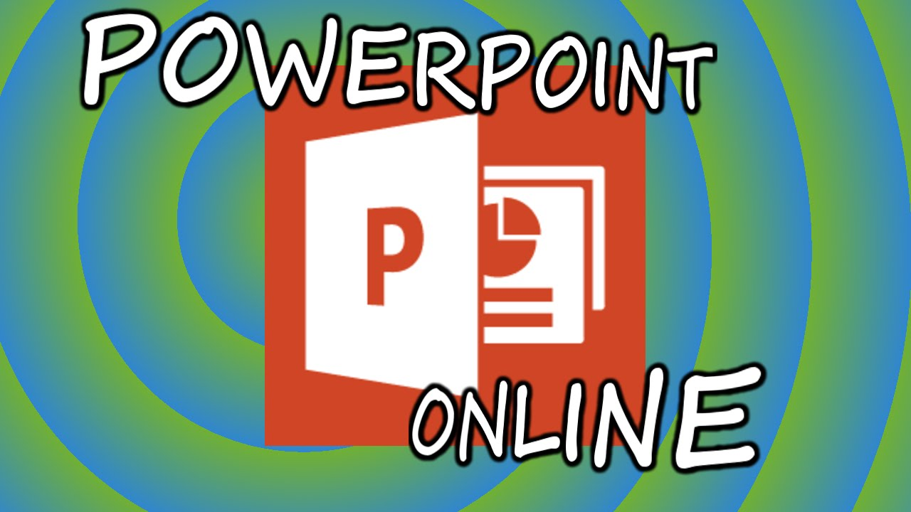cómo usar office power point gratis online youtube