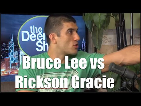 "UFC | Bruce Lee vs Rickson Gracie (Gracie Breakdown with Rener Gracie ""Saved by the bell"")"