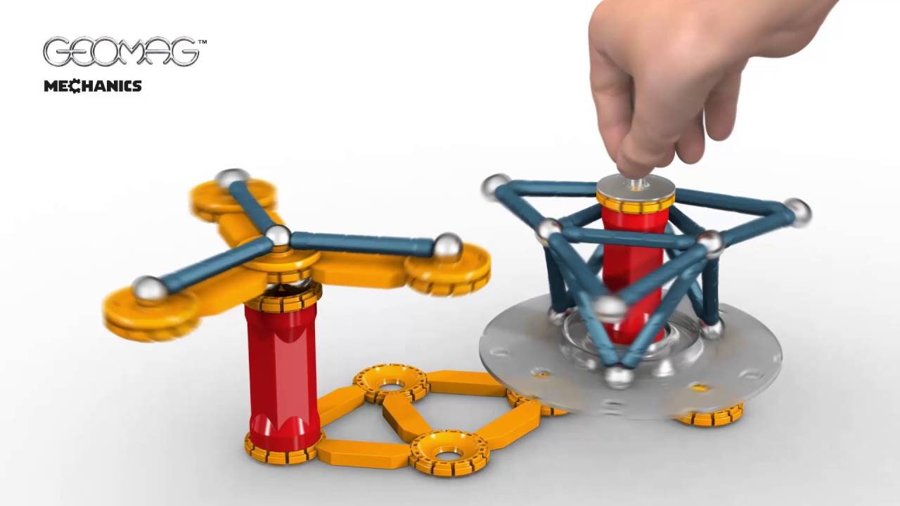geomag 86 piece mechanics collection magnetic construction set - Geomag Color 86