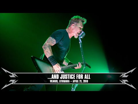 Metallica: ...And Justice for All (MetOnTour - Vilnius, Lithuania - 2010) Thumbnail image