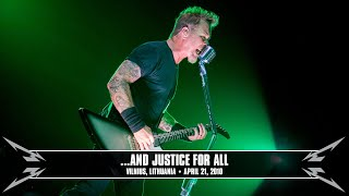 Metallica: ...And Justice for All (MetOnTour - Vilnius, Lithuania - 2010)