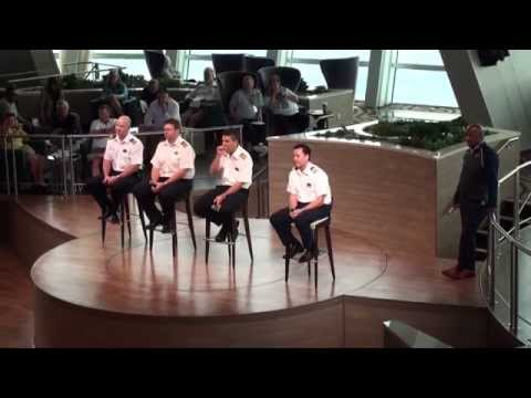 Quantum of the Seas: Captain's Corner Session - December 10, 2014