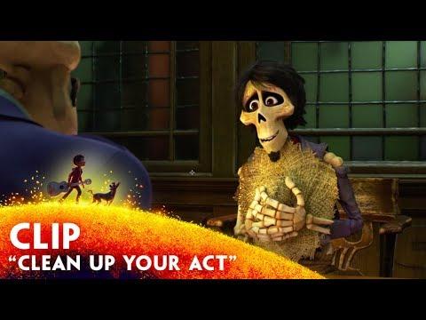 """Clean Up Your Act"" Clip - Disney/Pixar's Coco"