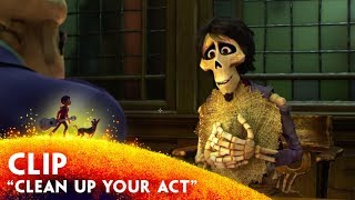 """Clean Up Your Act"" Clip - Disney/Pixar's Coco"