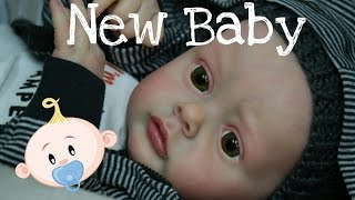 NEW BABY BOY! NEW COLLECTION BABY! REBORN BABY DOLL! REAL LIFE LIKE BABY DOLL