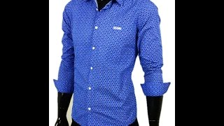 Брендовая мужская рубашка Moschino Арт  2012-04(, 2014-12-21T10:30:49.000Z)