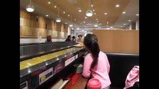 Kaiten Sushi-  Numazuko Restaurant, Shinjuku, Tokyo:  Shougatsu 2015-16, Part 2