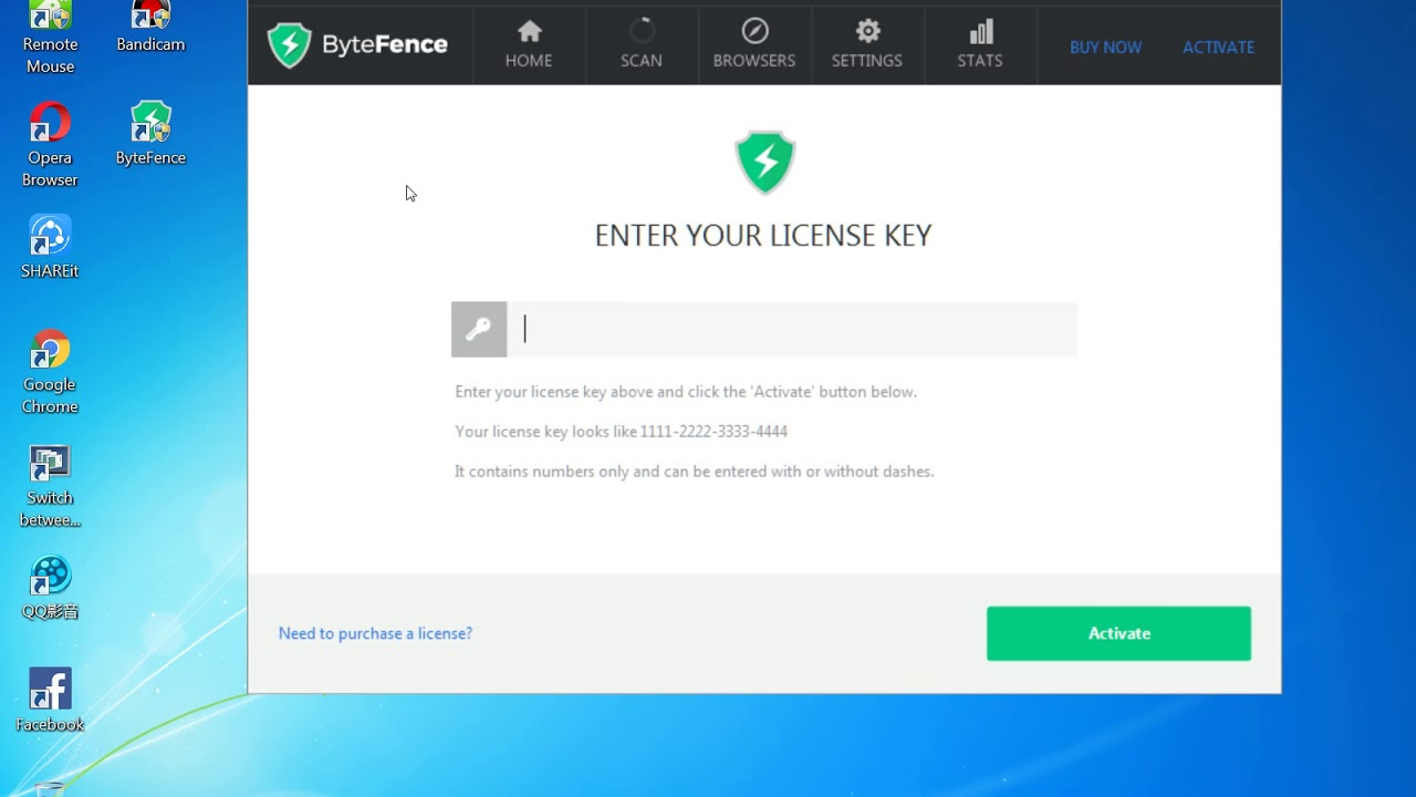 ByteFence Anti-Malware 2018 free - Upgrade to Pro FREE ...