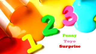 Learn Colors and Numbers Clay Slime Creative Video Kids Funny Toyo Surprise Toys