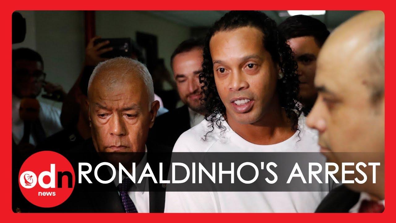 Brazilian Football Legend Ronaldinho Arrested for Alleged False Documents