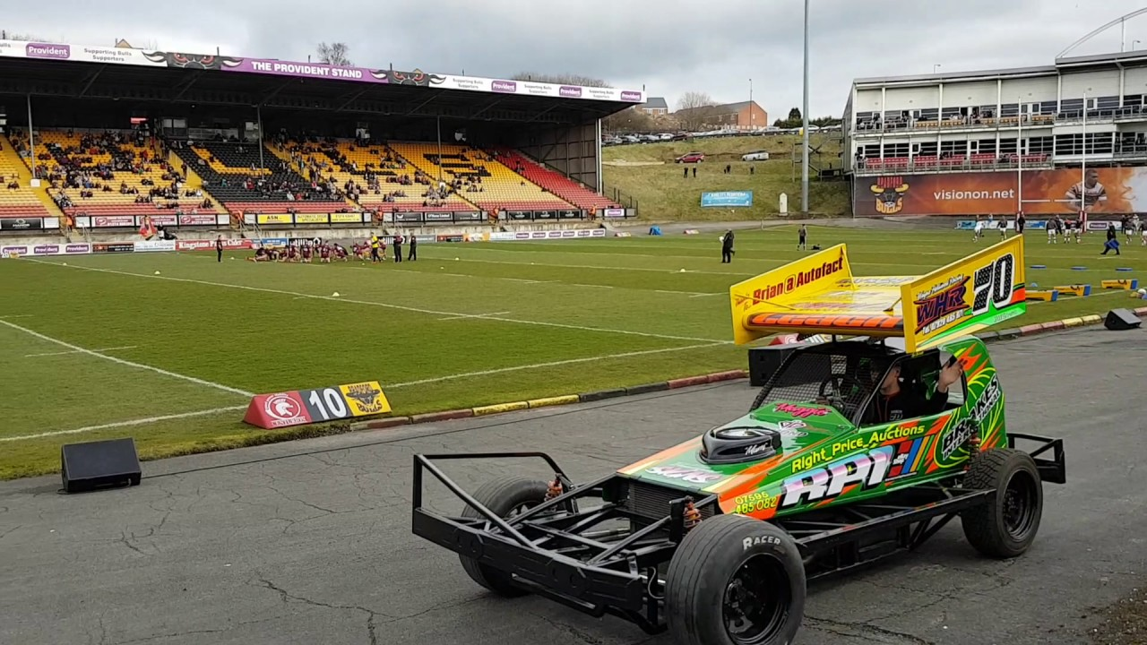 Briscaf1 Stockcar Racing Odsal Stadium 12th March 2017