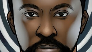 How to Draw Will.I.Am, Will.I.Am From Black Eyed Peas, Step by Step