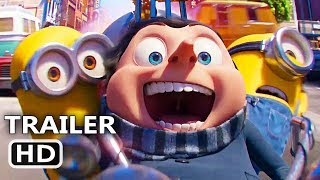 MINIONS 2 Trailer Teaser (2020) The Rise of Gru, Animated Movie HD