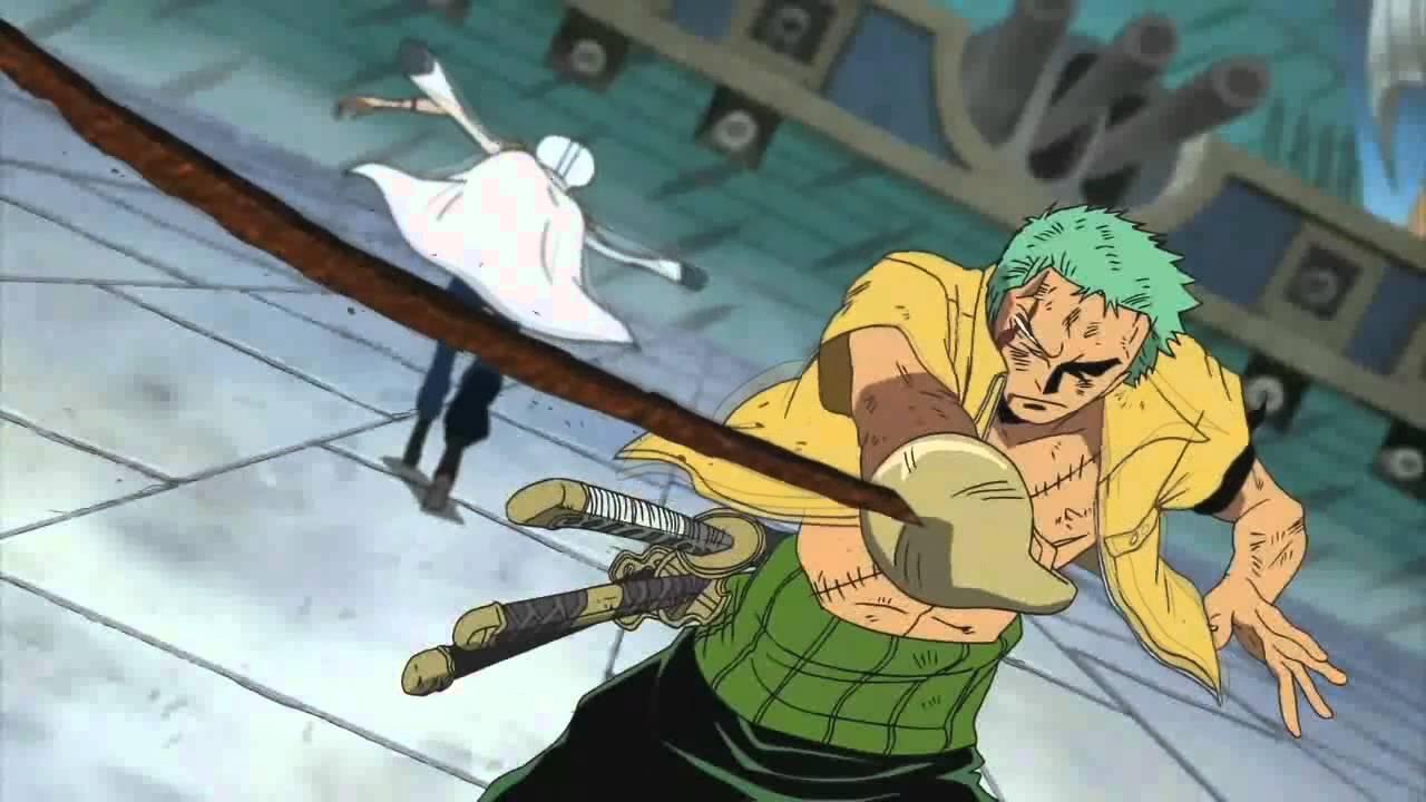 Download One Piece - Zoro vs Shu *BEST QUALITY* [HD/HQ]