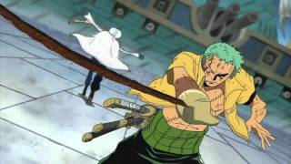 One Piece - Zoro vs Shu *BEST QUALITY* [HD/HQ]
