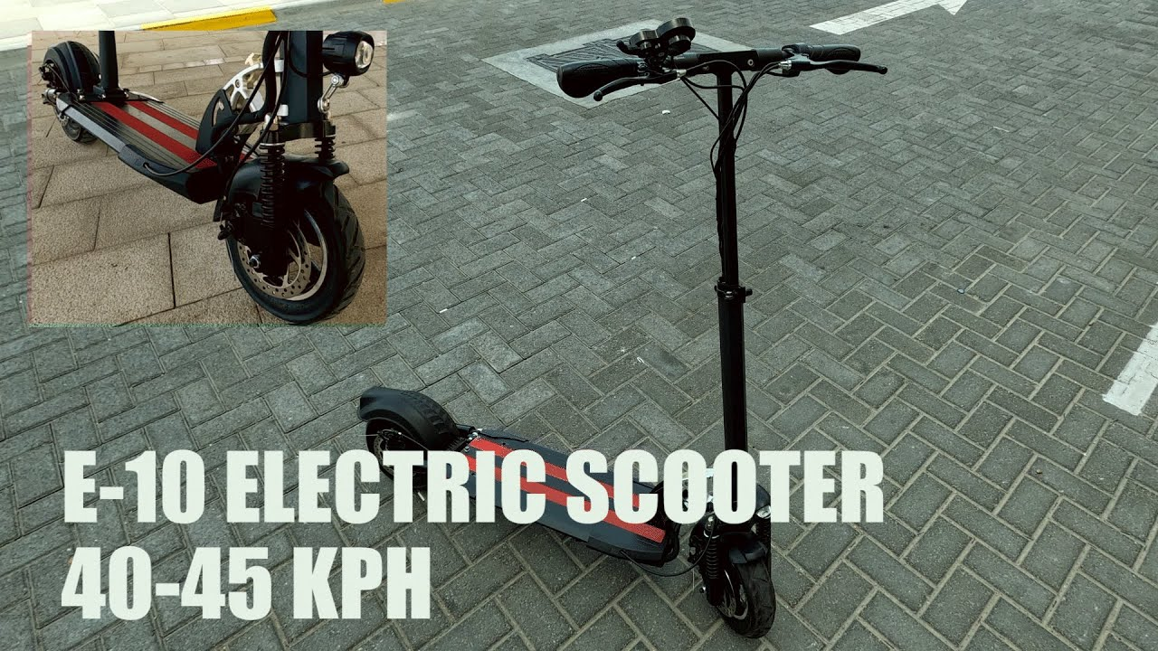 Download Affordable E10 Electric Scooter (48VOLTS/500WATTS BRUSHLESS MOTOR)