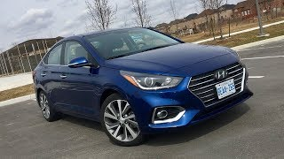 2018 Hyundai Accent Test Drive Review (Constantly Moving The Bar)