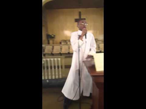 Prophet Joshua Cable at Good Samaritan Ecumenical Church in Tchula, MS