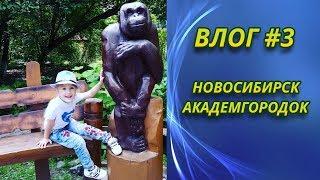 Прогулка по городу - Новосибирск - Влог #3