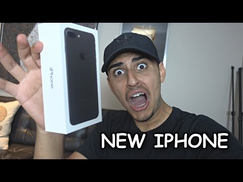 NEW iPhone 7 Plus UNBOXING!!