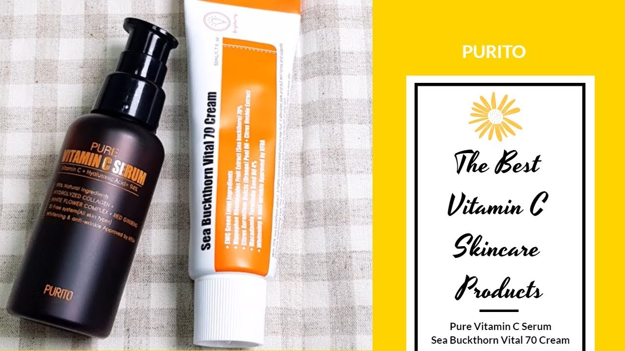 The Best Vitamin C Skincare Products | PURITO | YesStyle Korean Beauty