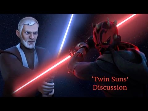 Discussion for 'Twin Suns'  Sam Witwer