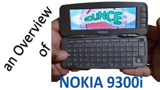 Nokia 9300i Communicator Overview